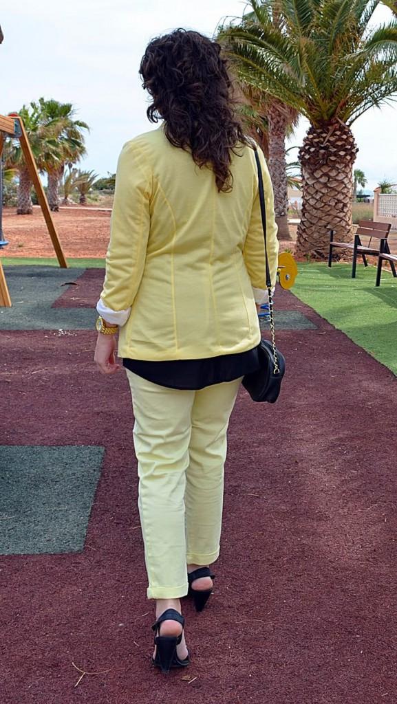 yellow, black, amarillo, negro, fashion blogger, blog de moda, look, outfit