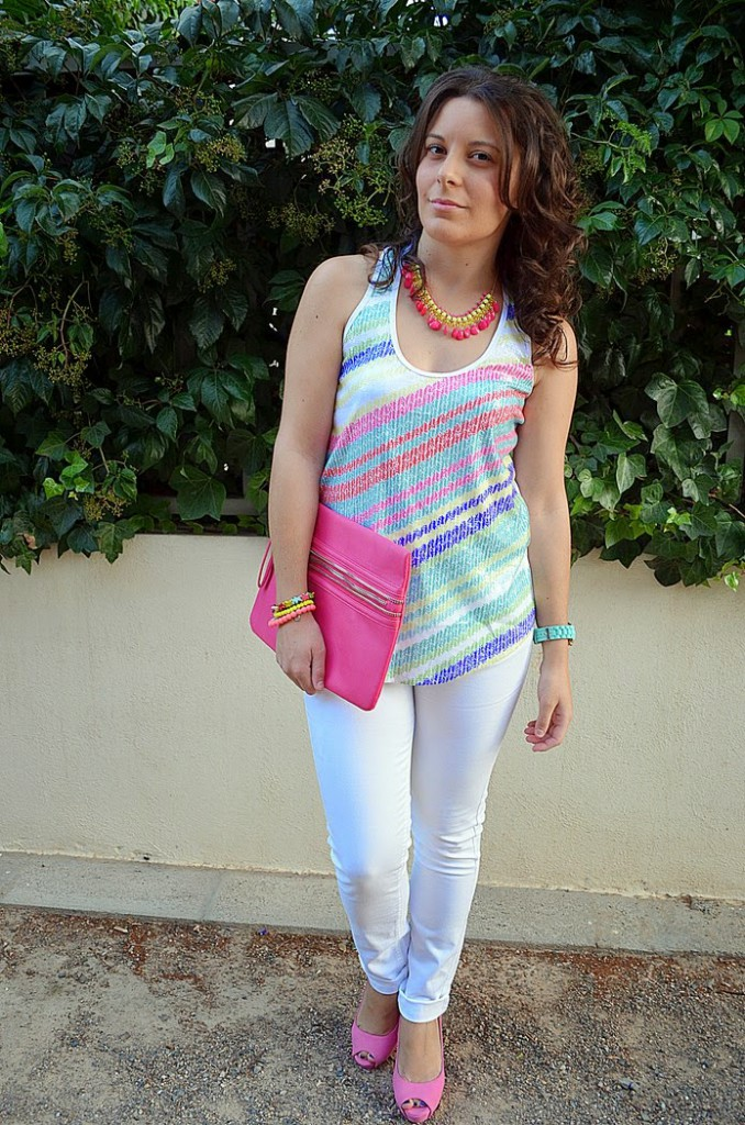 custo barcelona, moda, castellón, blogger, lidl, looks, rosa, blog de moda, fashion blogger, fashionista