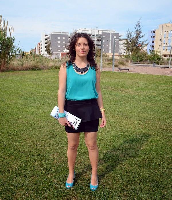 paparazzi, mi vestido azul, blog de moda, blogger, castellon, fashion blogger