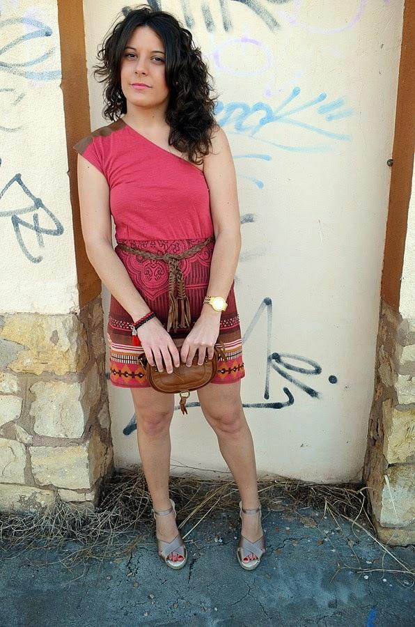 mi vestido azul, vestido étnico, ethnic dress, moda, blogger, castellón, blog de moda, fashion blogger