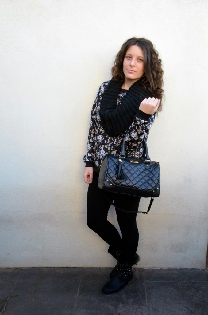 mi vestido azul, fashion blogger. blog de moda, look, castellón, comfy, cómodo, casual