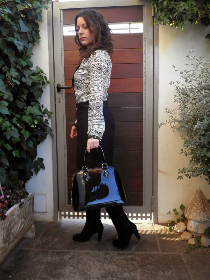 working girl, look, trabajo, oficina, castellón, blogger, moda, mi vestido azul, fashion blogger, looks, blog, blusa