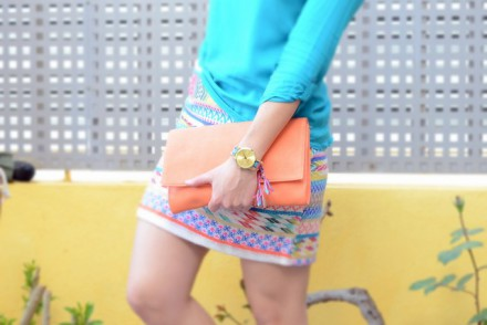 Colorful skirt