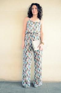Flowers jumpsuit & Khaki trench (6)