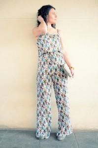 Flowers jumpsuit & Khaki trench (7)