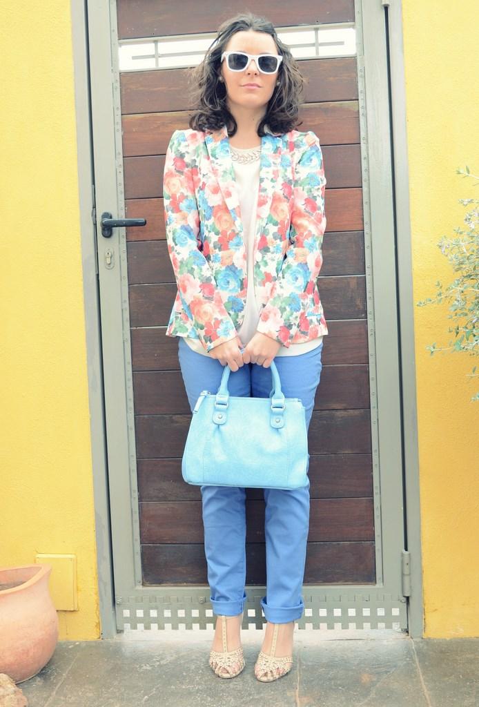 Mi Vestido Azul - Flowers Blazer II (6)