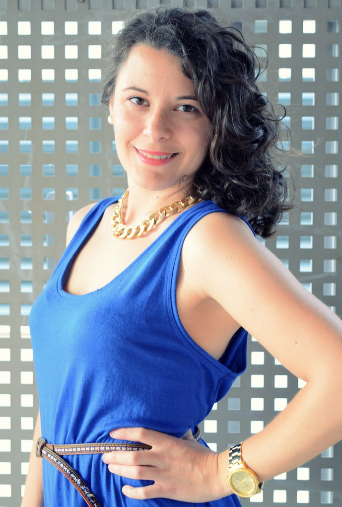 Mi Vestido Azul - Maxi blue dress (1)