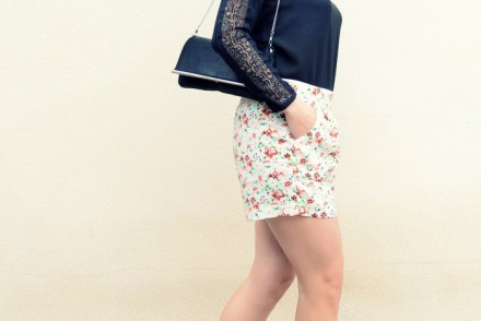 Mi Vestido Azul - Printed Soft Short (19)