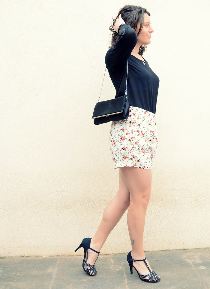 Mi Vestido Azul - Printed Soft Short (20)