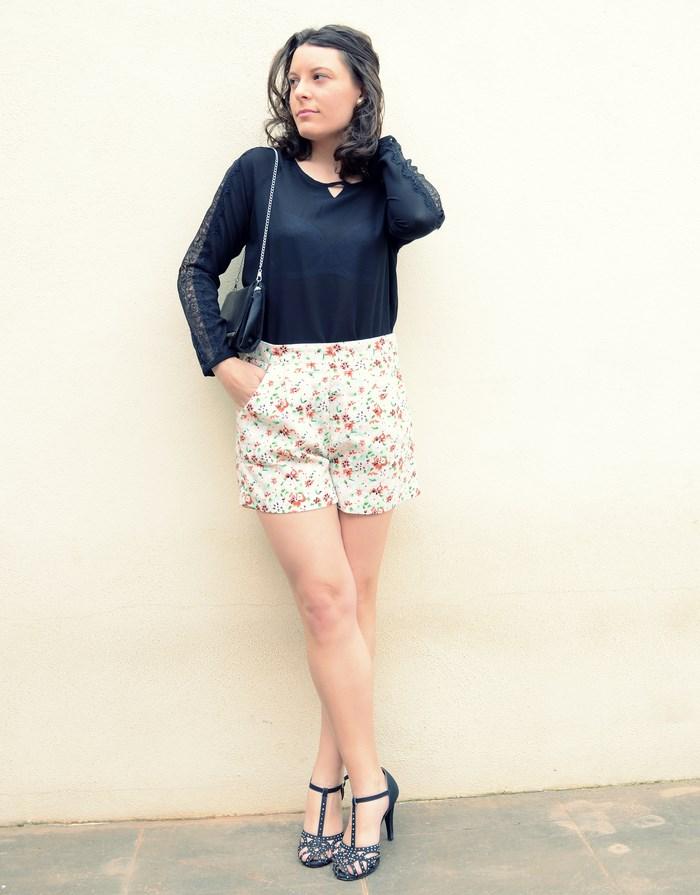 Mi Vestido Azul - Printed Soft Short (21)