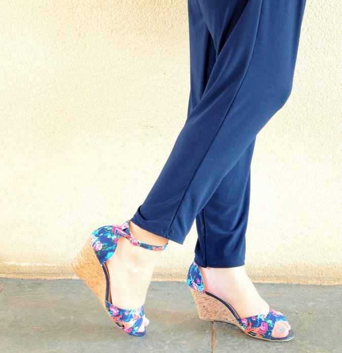 Mi vestido azul - Touch of pink (1)