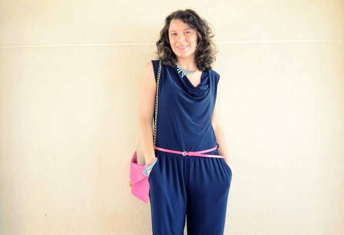 Mi vestido azul - Touch of pink (13)