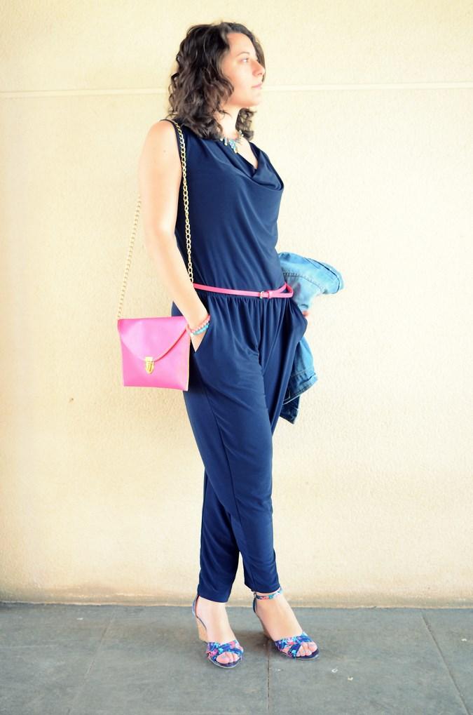 Mi vestido azul - Touch of pink (2)