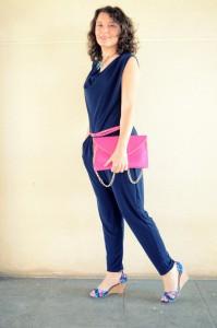Mi vestido azul - Touch of pink (5)
