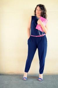 Mi vestido azul - Touch of pink (6)
