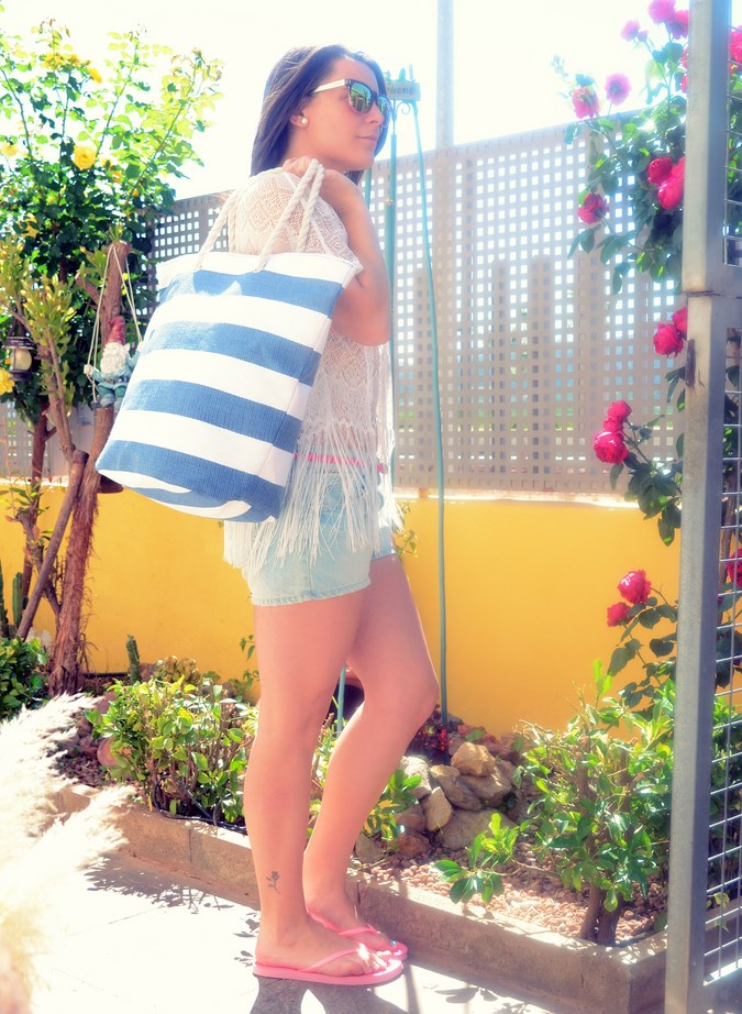 Mi vestido azul - Beach look (5)