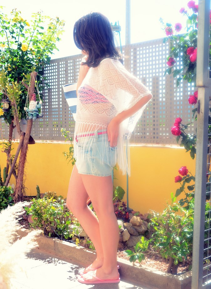 Mi vestido azul - Beach look (6)