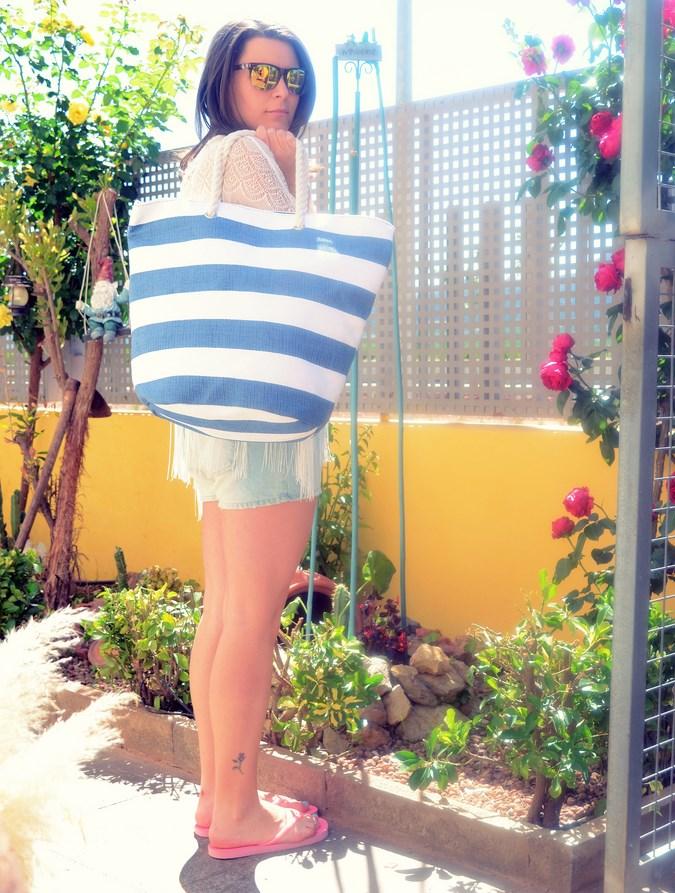 Mi vestido azul - Beach look (7)