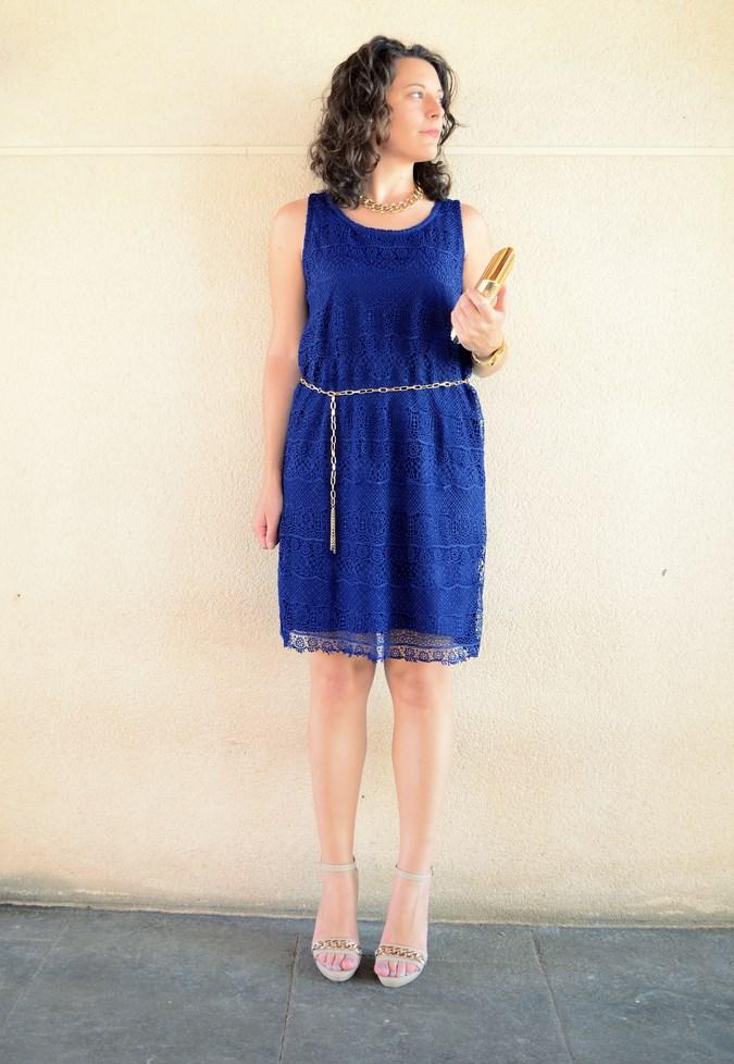 Mi vestido azul - Blue crochet dress (2)