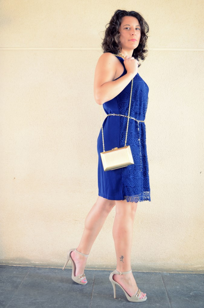 Mi vestido azul - Blue crochet dress (6)