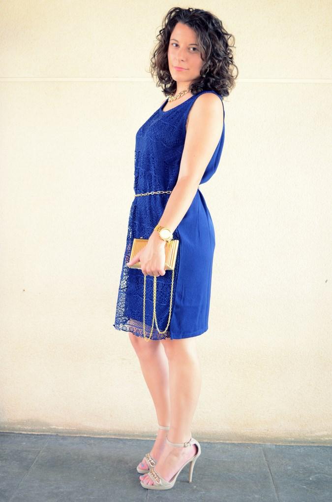 Mi vestido azul - Blue crochet dress (7)
