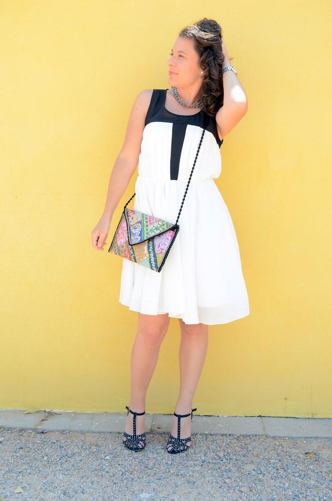 Mi vestido azul - Just black and white (6)