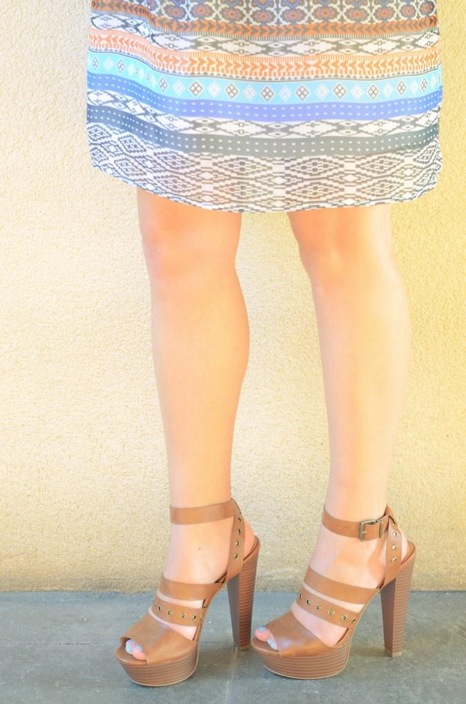 Mi vestido azul - Shoulder off dress (4)