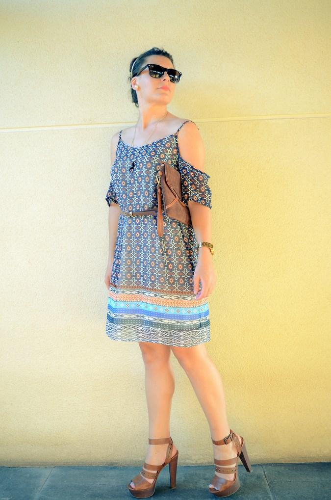 Mi vestido azul - Shoulder off dress (9)