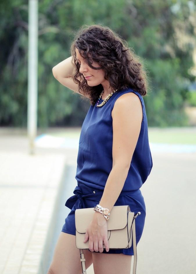 Mi vestido azul - Blue jumpsuit & Nude (10)