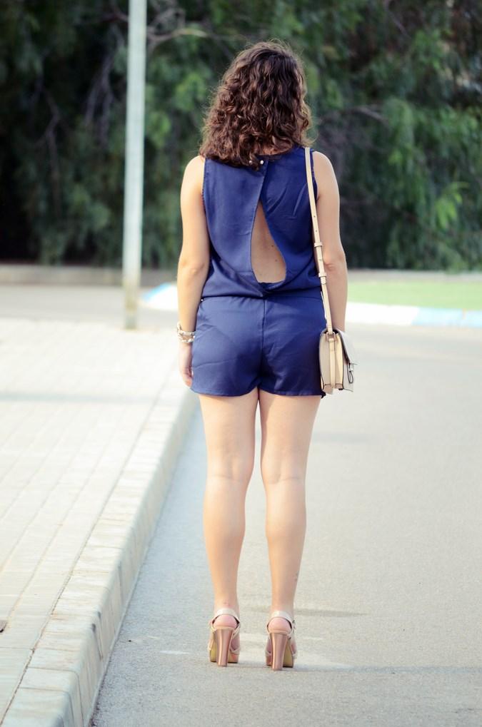 Mi vestido azul - Blue jumpsuit & Nude (6)