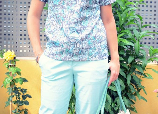 Mi vestido azul - Capri pants (19)