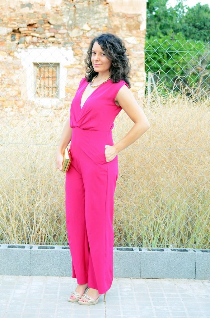 Mi vestido azul - Fuchsia jumpsuit (4)