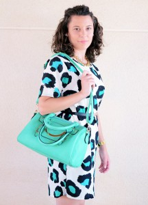 Mi vestido azul - Green animal print (11)
