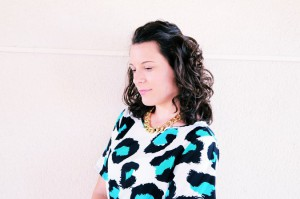 Mi vestido azul - Green animal print (5)