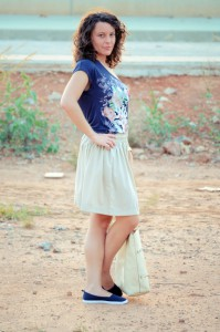 Mi vestido azul - Let the sunshine (5)