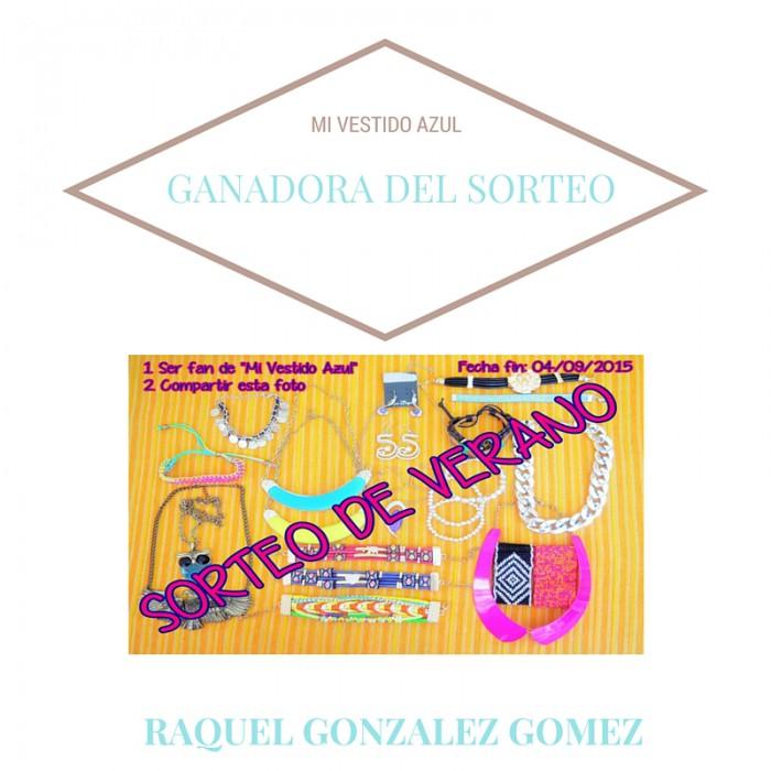 GANADORA DEL SORTEO