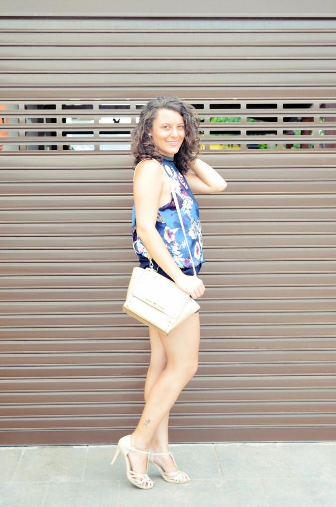 Mi vestido azul - Flower Mini Jumpsuit (10)