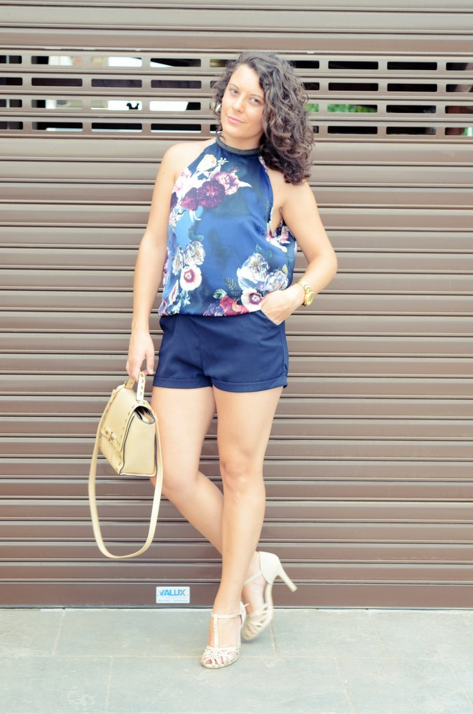 Mi vestido azul - Flower Mini Jumpsuit (6)