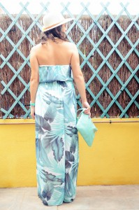 Mi vestido azul - Palms maxi dress (6)