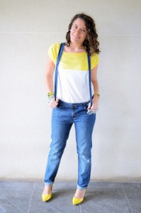 Mi vestido azul - Yellow & Denim Jumpsuit (10)