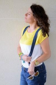Mi vestido azul - Yellow & Denim Jumpsuit (11)