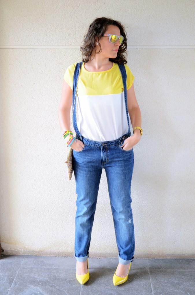 Mi vestido azul - Yellow & Denim Jumpsuit (4)