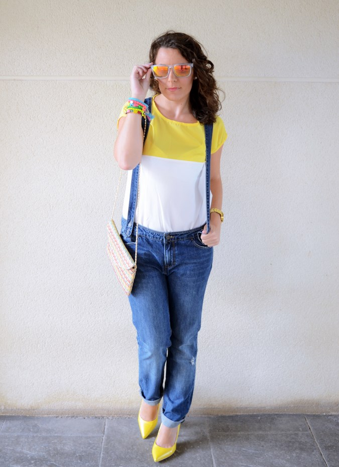 Mi vestido azul - Yellow & Denim Jumpsuit (5)