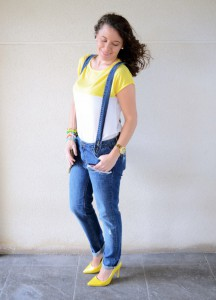 Mi vestido azul - Yellow & Denim Jumpsuit (6)