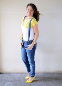 Mi vestido azul - Yellow & Denim Jumpsuit (7)