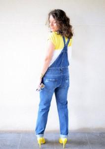 Mi vestido azul - Yellow & Denim Jumpsuit (8)