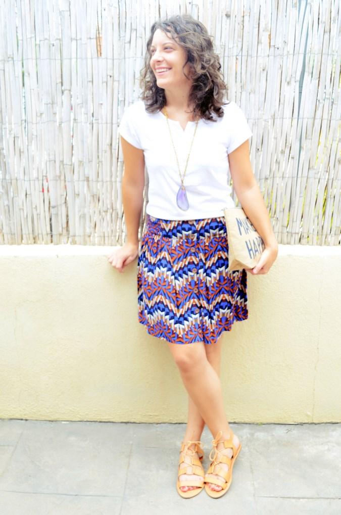 Geometric skirt (2)