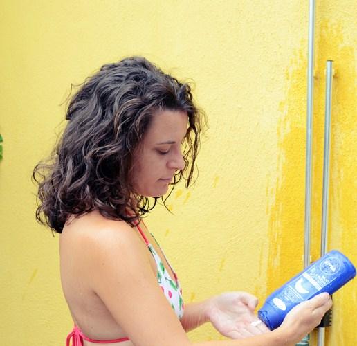 Mi vestido azul - Nivea bajo la ducha (8)