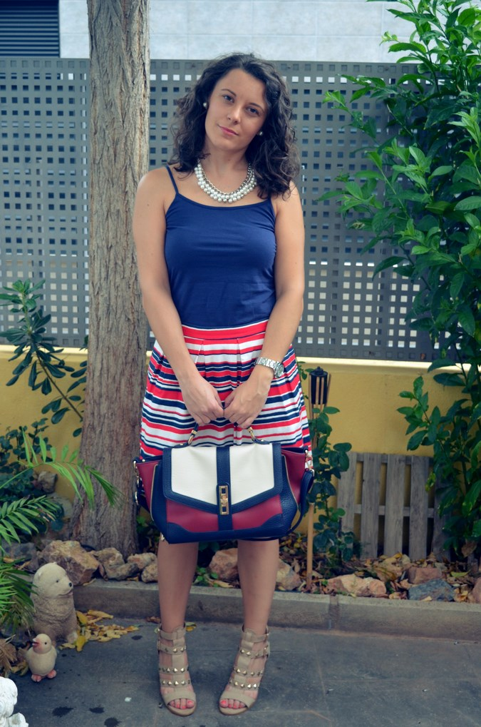 Striped Skirt (5)