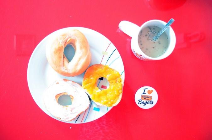 Mi vestido azul - Desayuna con Thomas Bagels (4)
